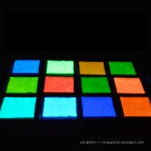 lueur dans pigment foncé, pigment photoluminescent pour peinture