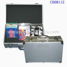 high quality 60 CD disks(10mm)aluminum CD case from China factory wholesales