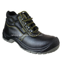 Full Plastic Buckles MID-Cut Safety Shoes (HQ03055)
