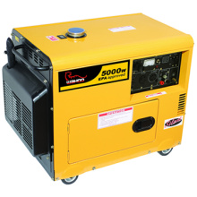 CE Certificado China Factory 5kw Silent Diesel Generator (WH5500DGS)