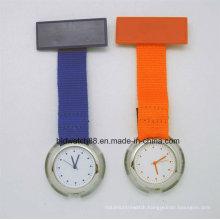 Cheap Nurse Fob Watch with Nylon Fabric Band