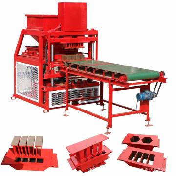 Newest hot sale interlocking earth block moulding machine in nigeria