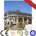 Lampe de voie de lobby de mur de jardin de lumière extérieure de lumière de gouttière de barrière de panneau solaire blanc chaud de 3
