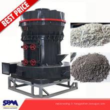 Célèbre broyeur de poudre de rupture de roche de marque de SBM, moulin de broyeur de calcite