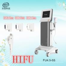 Équipement médical de beauté de Hifu pour le soin de peau (FU4.5-5S)