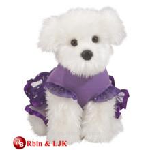 ICTI factory realistic plush toy dog