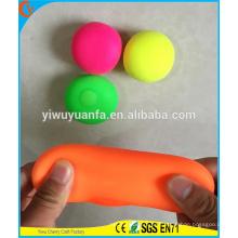 Juguetes coloridos vendedores calientes de la bola del estiramiento del nuevo diseño