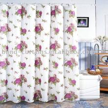 Flower design beautiful rideau de douche