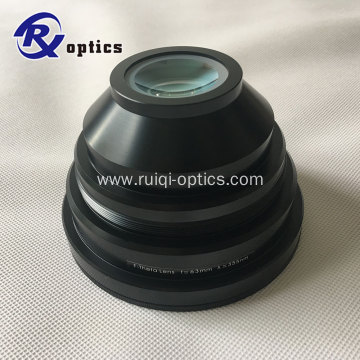 f-theta lens for 355nm UV laser