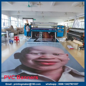 Spanduk Iklan Bingkai PVC Custom Personalized Outdoor
