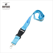 2017 Custom Fashion Hook ID Card Holder Lanyard with Logo, Promotional Cheap Polyester Lanyard with Carabiner