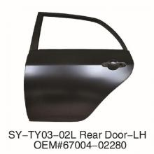 TOYOTA Corolla 2007-2012 Rear Door-L