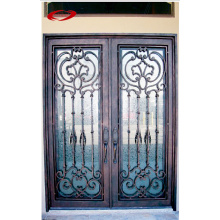 Wrought Security Door with Traditional Screen Style