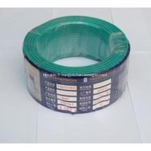 Fil en aluminium isolé par PVC professionnel de basse tension, fil électrique