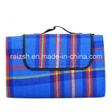 2 * 1.5 Knitted Cashmere Picnic Mat Dampproof Baby Crawling Mat