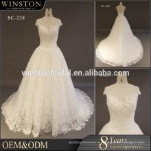 2017 мода новые свадебные платья плюс Размер невесты 2017