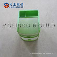 Plastic food crate box mould