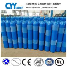 50L Helium Sauerstoff Stickstoff Nahtlose Stahl Gas Zylinder