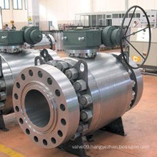 Full Welding Forging Trunnion Ball Valve for API6d (Q47Y)