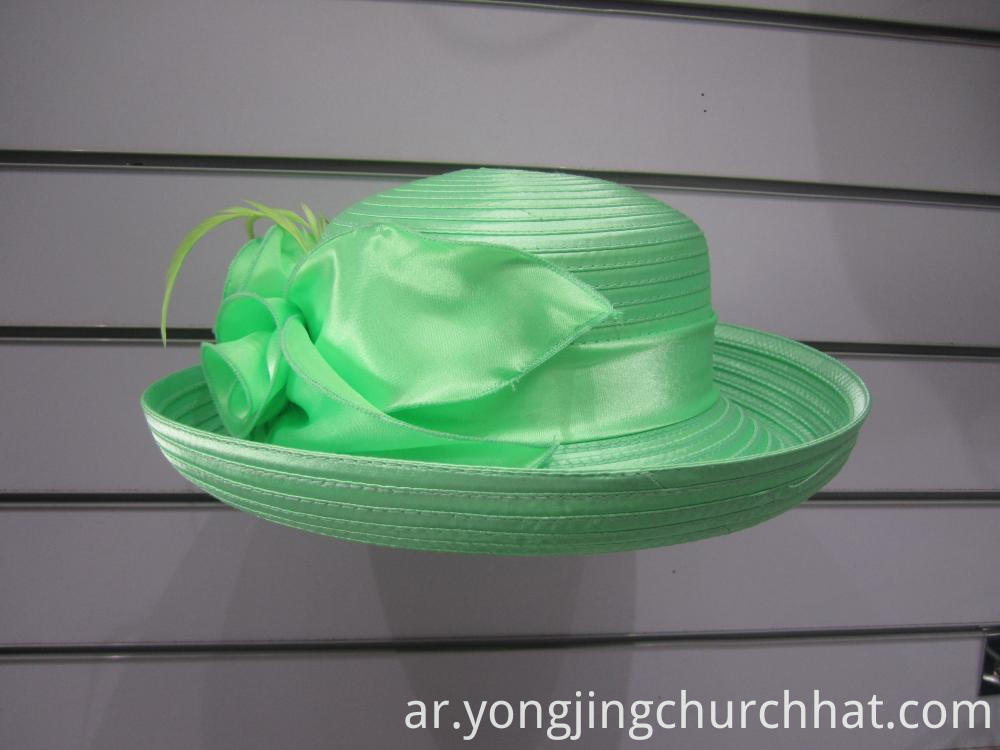 Lime Derby Hats