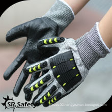 SRSAFETY new safety TPR mechanic gloves / working gloves