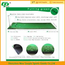 Высокое качество дешевые искусственная трава используется для гольфа кладя зеленой травы коврики