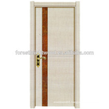 Modern Melamine Finish Wooden Interior Bathroom Door