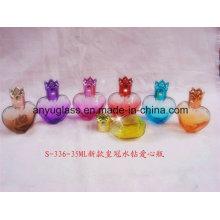 Mini perfume de la alta calidad / botellas de cristal de la fragancia con el casquillo
