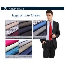 Популярный твердый цвет полиэстер искусственный шелк ткань
