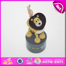 Hot New Product for 2015 Kids Toy Wooden Toy, Mini Animal Toy Children Toy Wooden Toy, Funny Baby Toy Wooden Toy W06D044