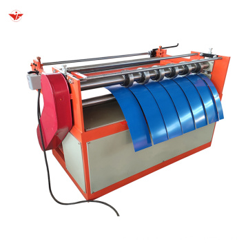 Cheap simple galvanized steel sheet slitting cutting roll forming machine price