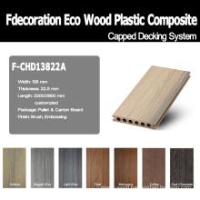 Good Surface Wood Textured Composite Plastic Wood WPC Flooring