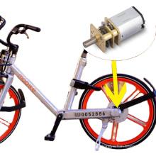 Good quality long lifetime dc gear motor for bike hub lock