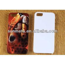 Le téléphone portable de sublimation 3d couvre le cas phone5