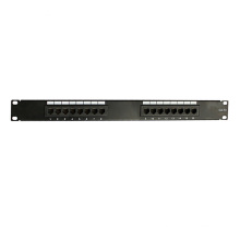 Panel de conexión portuario de alta calidad de la alta calidad cat5e 16