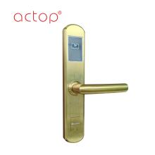 Smart hotel door handle lock