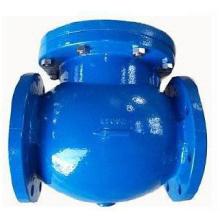 Válvula de retenção de extremidade de flange de ferro fundido DIN