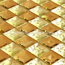 Diamond Glass Mirror Mosaic Tile (HD044)