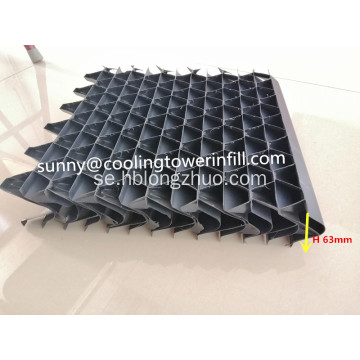 HVAC Cooling Tower Air Inlet Louver