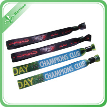 Custom Best Quality Festival Woven Fabric Wristband for Events