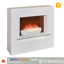 2016 novo design estilo moderno bacia decorativa aquecedor lareira elétrica