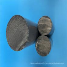 Tige de PVC grise de barre ronde de dureté élevée