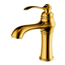 Torneira monocomando para lavatório torneira para lavatório latão ouro