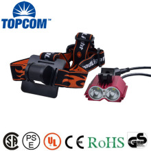 2 CREE XML LED Rechargeable Cycling Headlamp Bike Light Nice Well
