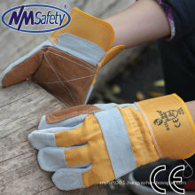 NMSAFETY cow male leather gloves