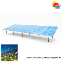 Customized Solar Panel Bracket of Ground System (SY0398)