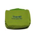 Plain canvas cosmetic bag travel