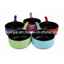 Utensilios de cocina Colorido de aluminio de cerámica / Non-Stick Sauce Pan Cookware