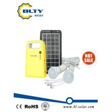 Sistema de iluminación solar 3W 6V