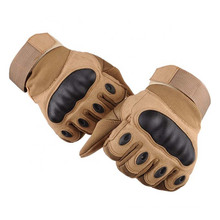 Protective Workout Glove Full Finger Touch Screen Hard Knuckle Police Army Military Tactical Gloves